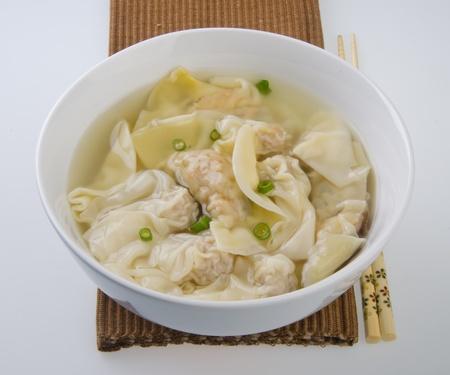 Wonton Soup  pork soup asia food