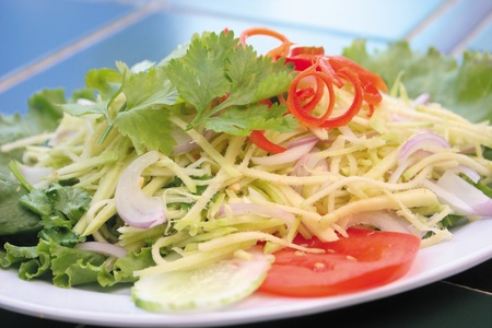 thai salad, asia cuisine food photo