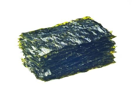 seaweed, fried seaweed on the background Stock Photo - 13529128