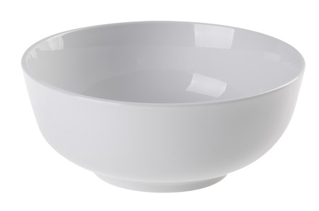 bowl, ceramic bowl on white background photo