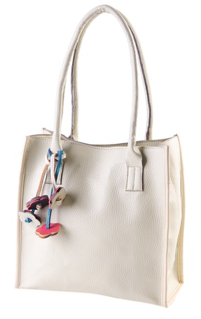 bag, ladies bag on the white background photo