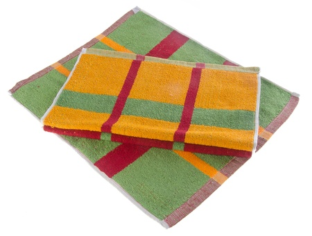 towel, kitchen towel on a background Stock Photo - 14551148