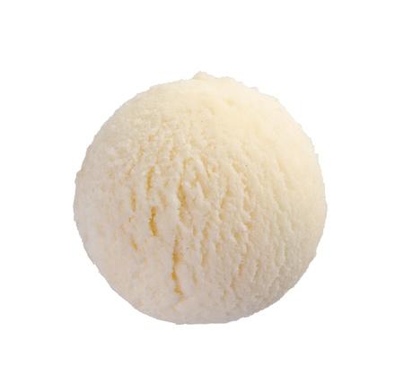 ice cream scoop  Vanilla ice cream Stock Photo - 14550947