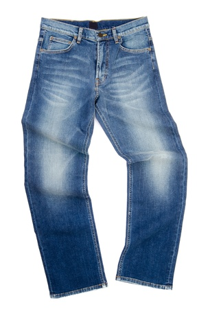 jeans, stylish jeans on the blackground photo