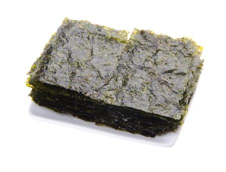 seaweed. dry seaweed on the background