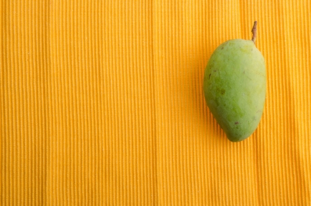 mango. green mango with background. photo