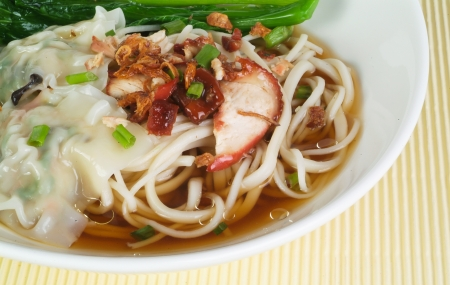 Noodle Soup and asia food Stock Photo - 14757121