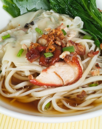 Noodle Soup and asia food Stock Photo - 14757140
