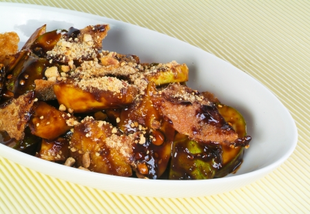 rojak asia fruits salad on the background