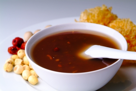 Red Bean Soup, Traditional Asia Dessert photo