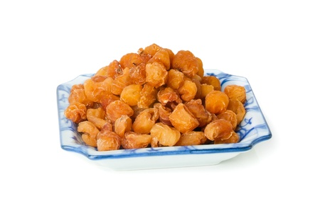 longan. dried seedless longan(dragon eye),traditional chinese herbal medicine photo