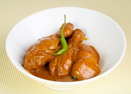 curry: Pollo al curry, pollo al curry asia comida Foto de archivo