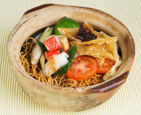 Claypo noodles. the asia food photo