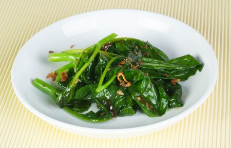 Stir Fried Vegetables on a plate