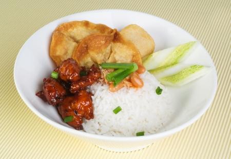 asia food and rice malaysia photo