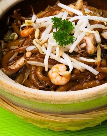 noodles on the background asia food. Stock Photo - 14911965