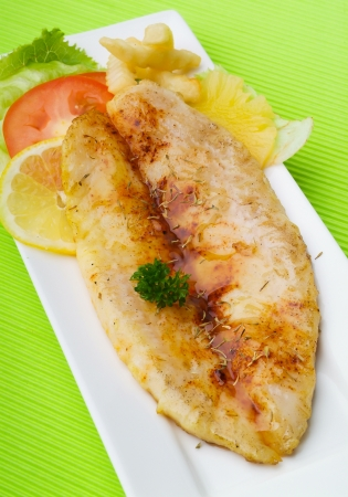 fish and chips: Fish & chips et un fond
