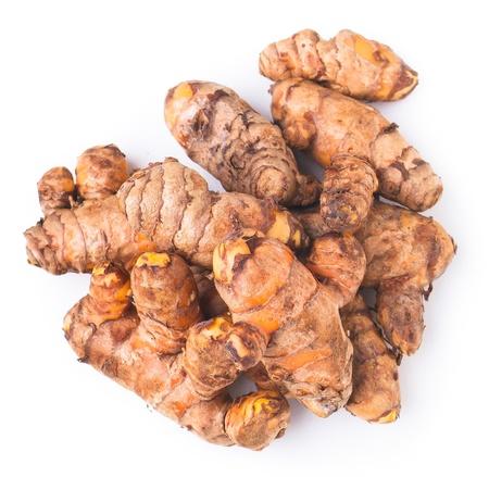 resembling: Ginger. Resembling ginger on background Stock Photo