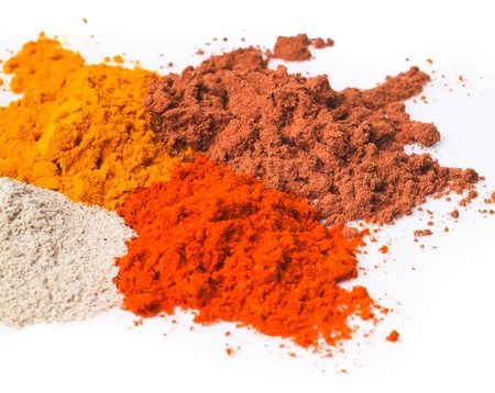 chilli powder. Spice Mix on the background Stock Photo