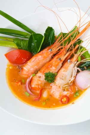 Thai Food Tom Yum seafood Stock Photo - 14912978