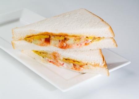 sandwich. sandwich on the background Stock Photo - 14912726