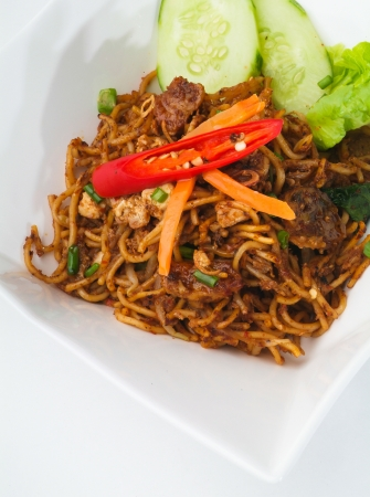 Stir fry noodles asia food photo