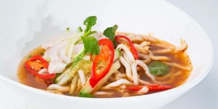 assam: assam laksa, asian malaysian food