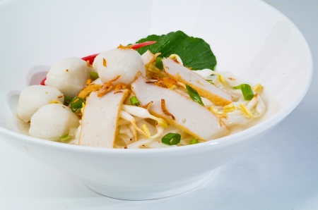 Noodle Soup and asia food Stock Photo - 14912739