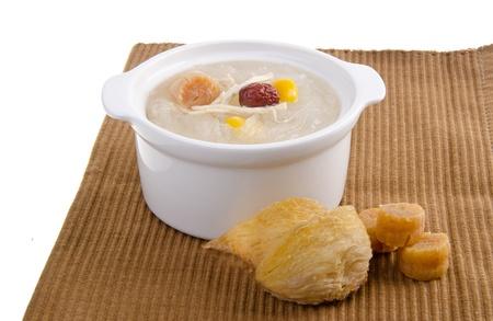 birds nest: Ave hervida del nido estilo comida china