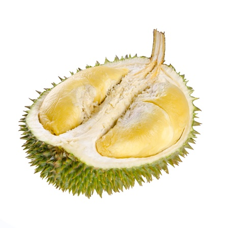 Durian fruit  Shell  husk  of the prized durian fruit