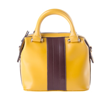Bag, bolso de embrague en el fondo. Foto de archivo