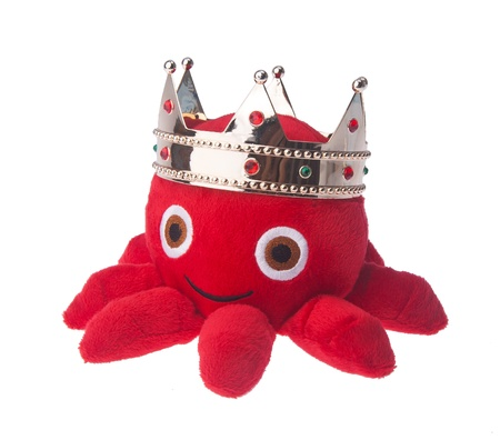 soft toy octopus on the background. Stock Photo - 16797707