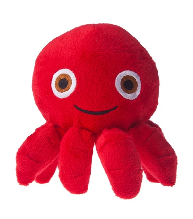soft toy octopus on the background. Stock Photo - 16797732