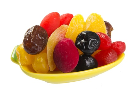 Dried fruits on the background Stock Photo - 17289832