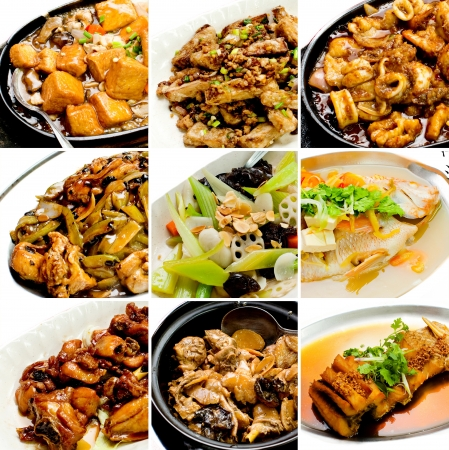 oriental food: collection chinese food. asian food collection