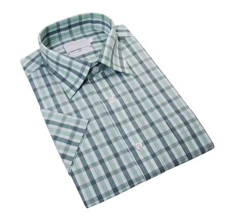 Shirt  men dress shirt on a white background Stock Photo - 19061153
