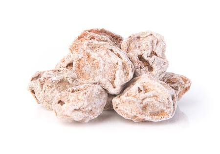 Salted Plum Tamarind Food Snack on Background Stock Photo - 21221540
