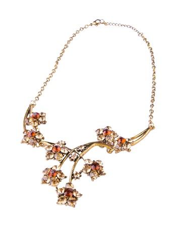 necklase: jewellery. necklase on the background Stock Photo