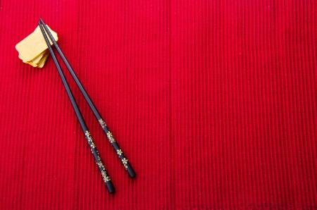 chinois: fond la cuisine chinoise avec des lingots d'or.