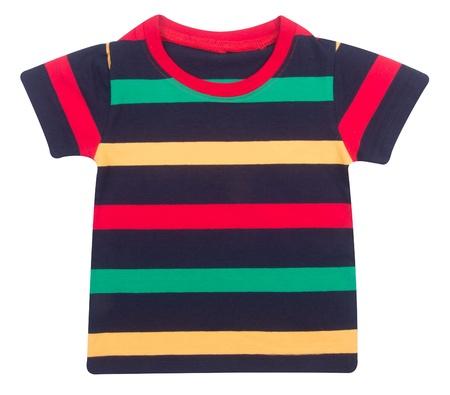 shirt. Childrens wear boy on background