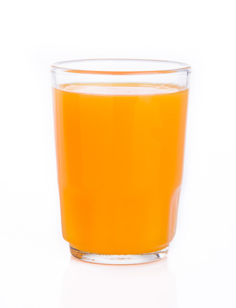 orange juice on the background photo