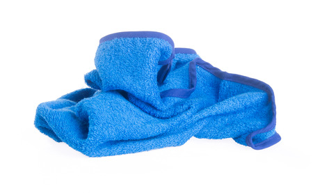 towel. Kitchen towel on the background Stock Photo - 22260585