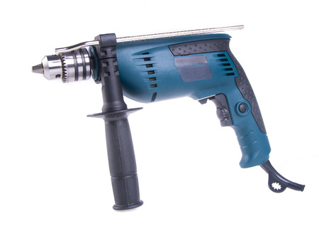 drill. power drill on background photo