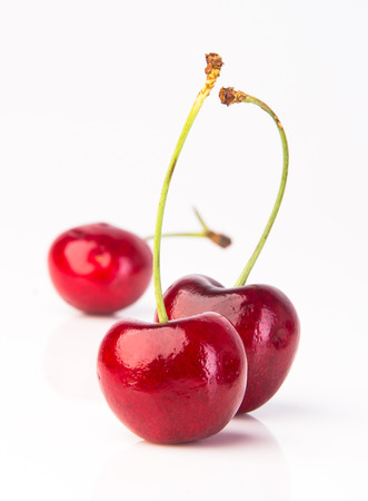 cherry  cherry berry on a background photo