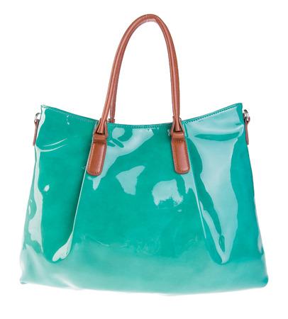 womans handbag on the background