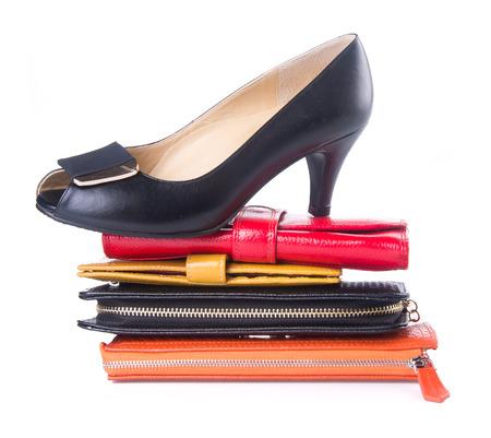 wallet. woman wallet Stock Photo - 25208993