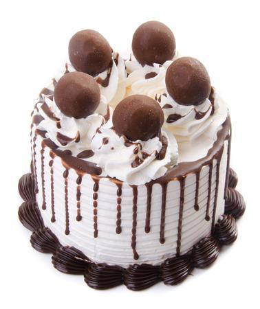 chocolate ice cream cake photo