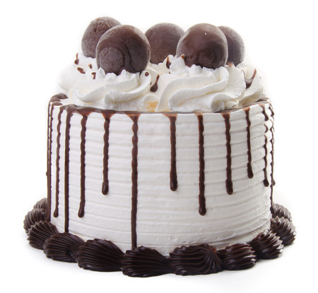 chocolate ice cream cake photo