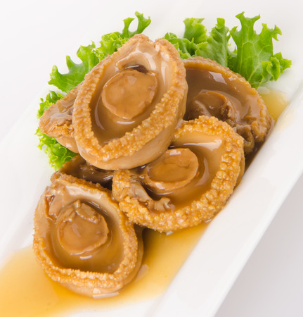 Chinese cuisine abalones