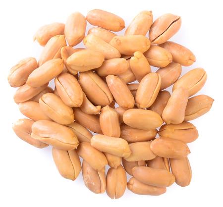 Peanuts. Processed peanuts on background Archivio Fotografico
